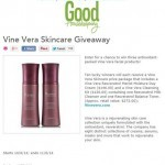 Good Housekeeping Vine Vera press