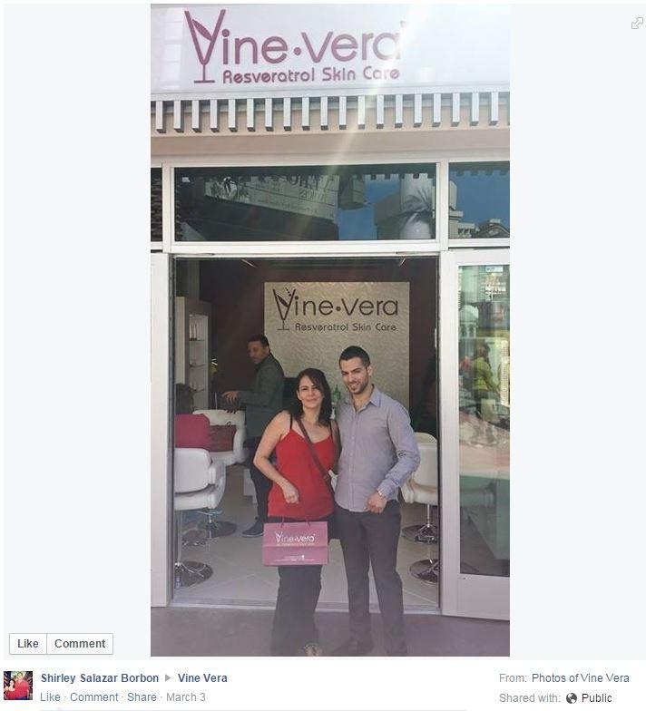 Vine Vera facebook image, vine vera reviews customer submission
