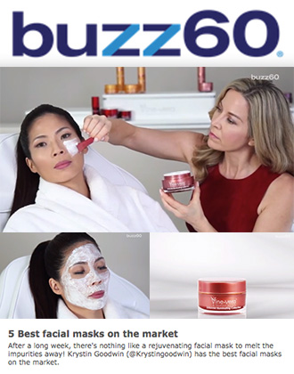 Vine Vera Zinfandel Illuminating Mask Among 5 Best Facial Masks, says Buzz60